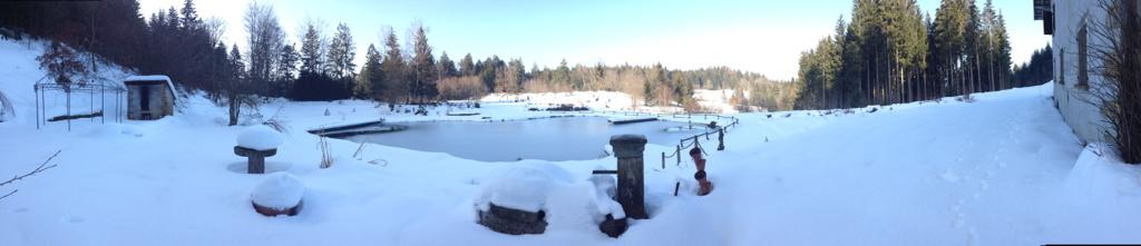 Retraite sous la neige